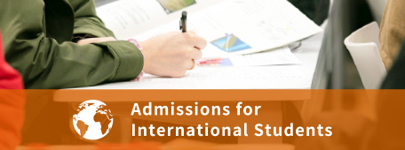 Admissions for International Students